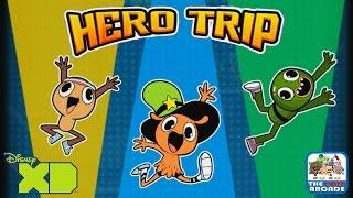Disney XD Hero Trip - Pickle Joins Team Bad Taste (iPad Gameplay, Playthrough)