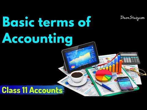 Basic terms of accounting: Class 11 XI Accounts | Video Lecture from YouTube · Duration:  14 minutes 56 seconds