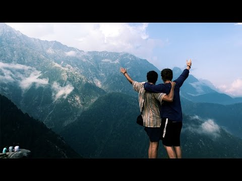 GOAT ATTACK ON TRIUND TREK | Dharamsala, India Travel Vlog