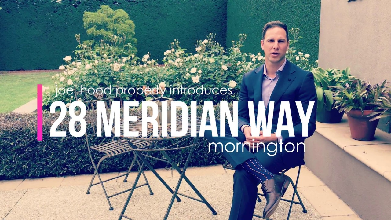 Joel Hood Property Tours 28 Meridian Way Mornington