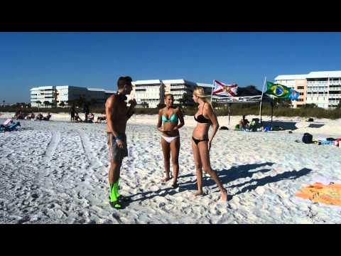 Bikini Goddesses doing Handstands on the beach Pulse Theory Fitness