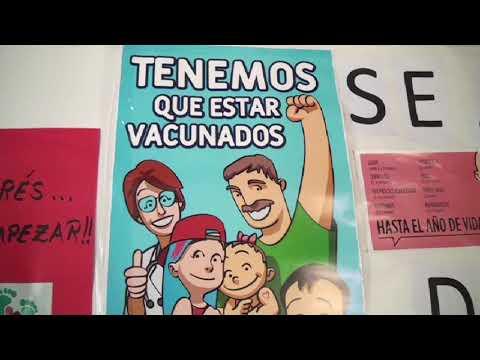Campaña de vacunación para ingreso escolar
