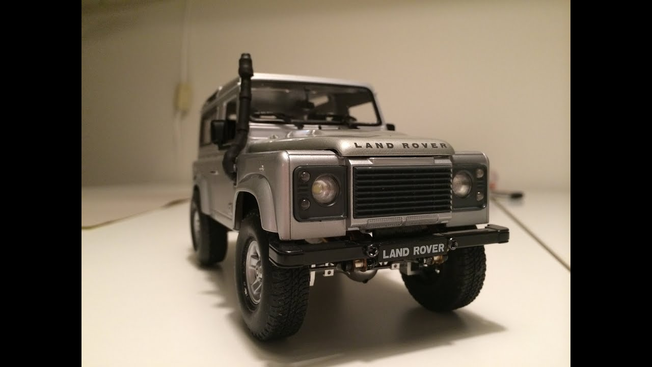 CUSTOM 1 24 SCALE LAND ROVER DEFENDER 90