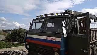 Апгрейд багажника КАМАЗ 43101...