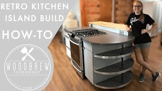 How to make an industrial modern kitchen island! We made several other videos about cabinet making and you can check those out
