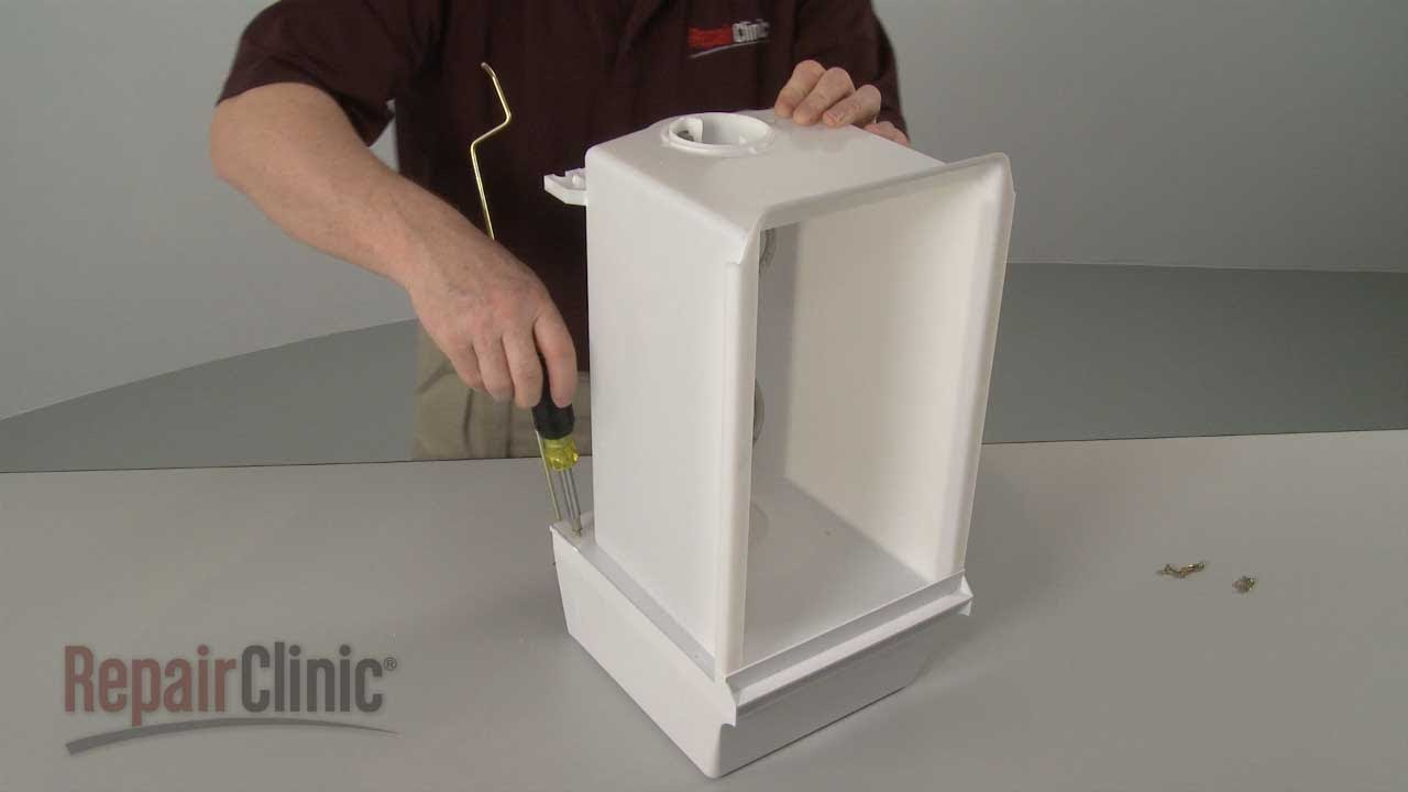 Fridge Ice Bucket Replacement  Whirlpool Refrigerator Repair Part 2196089  YouTube