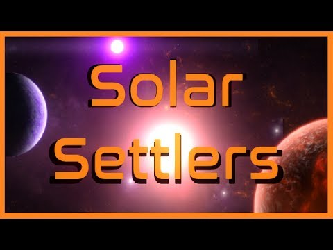 Solar Settlers - (Card Based Strategy Game)