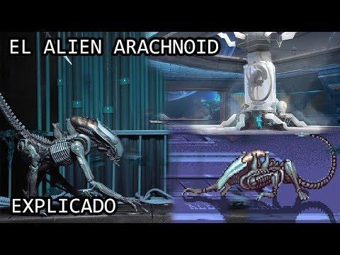 El Alien Arachnoid o Xenomorfo Arachnoid EXPLICADO