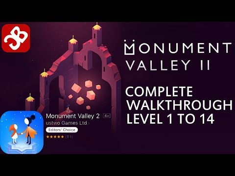 Monument Valley 2 : Chapter 1 to 14 - Level 1 to 14 Complete Walkthrough Video HD