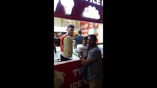 Turkish ice cream angry boy became cool😍