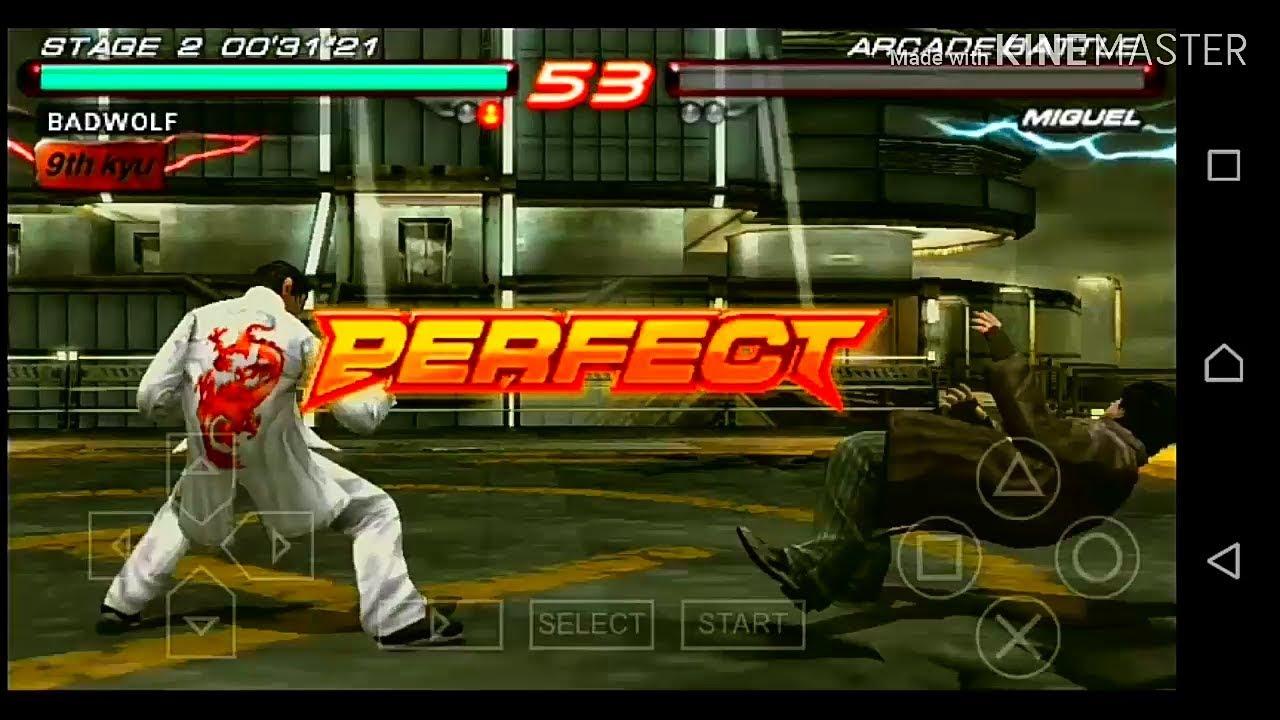 Tekken 6 game for ppsspp