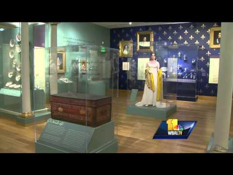 Baltimore-born Bonaparte Wife Featured In Exhibit