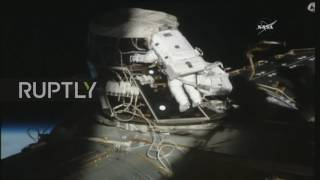 ISS: NASA astronauts conduct spacewalk from the ISS