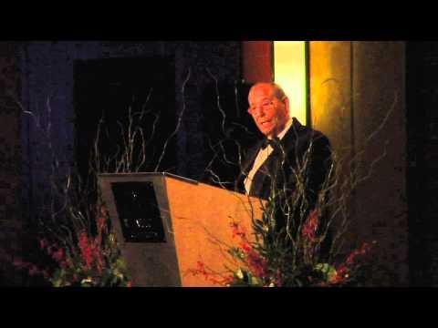 Richard M. DeVos Accepts the 2010 Faith And Freedom Award