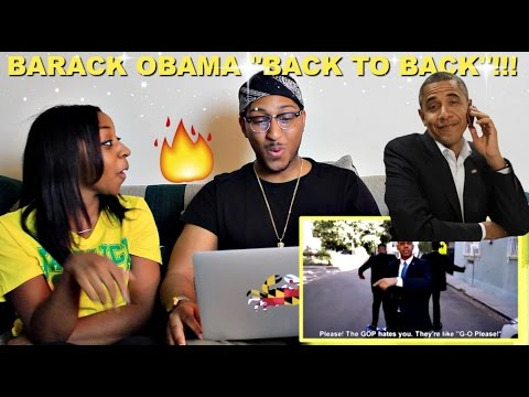 "Couple Reacts : Barack Obama ""Back to Back"" By Alphacat Reaction!!!"