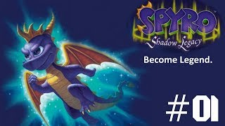 Spyro: Shadow Legacy #1: Become Legend. [NDS, 2005]