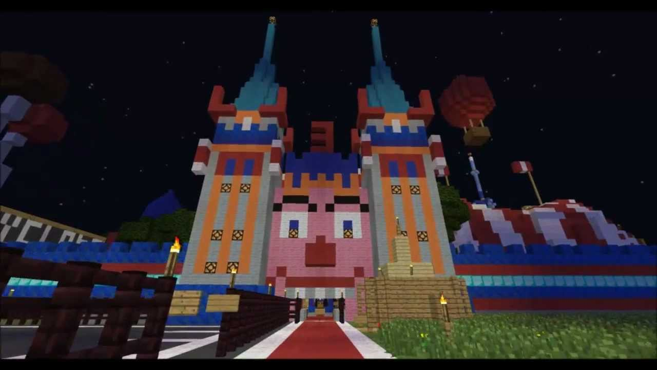 Lunapark Adventure 3 - Biggest Theme Park in Minecraft