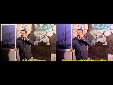 1966 EPCOT Film - Restoration Comparison