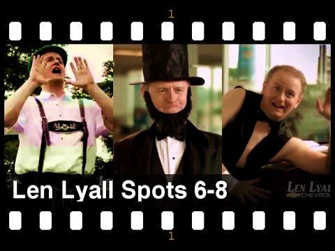 Jay Benedict Brown Len Lyall 6 thru 8