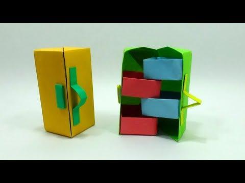 DIY Secret Stepper Box | Paper Craft Secret Box | Stepper Box Chest of Drawers - Paper Box Tutorial