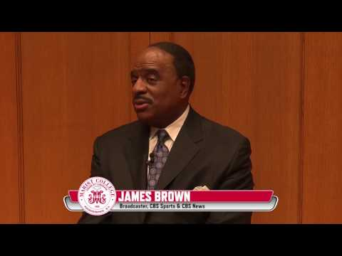 Broadcaster James Brown comes to Marist College