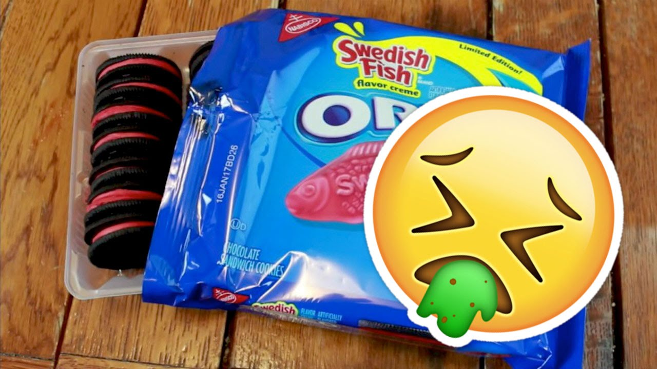 Would you eat swedish fish oreos what 39 s trending now for Swedish fish oreos where to buy