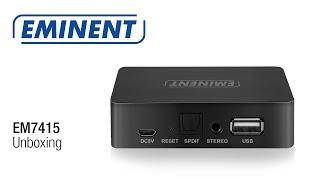 Eminent EM7415 Unboxing en Installatie WiFi Music Streamer