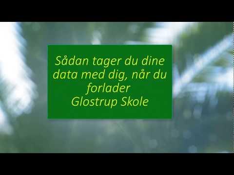 27. Google Take out  -  Sådan tager du dine data med dig, når du forlader Glostrup Skole