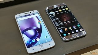 Lenovo Moto Z vs Samsung Galaxy S7 Edge - Fight of the Fingerprint Magnets