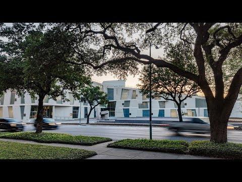 Steven Holl ramps garden over Houston's Glassell School of Art