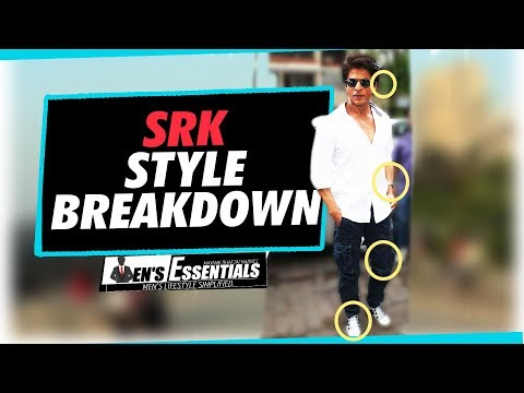 bad687796b2 SHAHRUKH KHAN 39 s STYLE BREAKDOWN How To LOOK and STYLE LIKE the  39 KING
