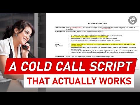 The Sales Script Example