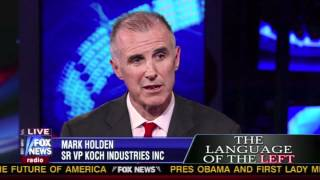 Mark Holden of Koch Industries with Sean Hannity
