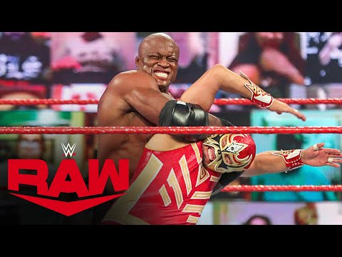 Riddle & The Lucha House Party vs. The Hurt Business: Raw, Jan. 18, 2021