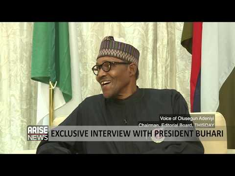 Arise-ThisDay 90 Minutes exclusive interview with the President - Muhammadu Buhari