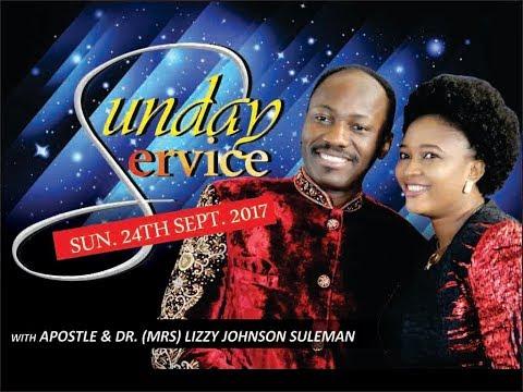 Sun. 24th Sept. Service LIVE Pt 2 - Apostle Johnson Suleman