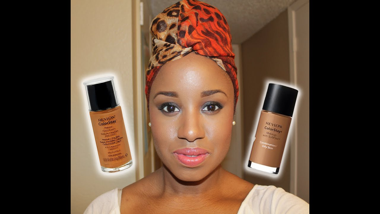 review of revlon colorstay foundation cappuccino