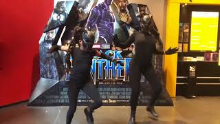Black Panther Challenge - Niece & Auntie @joanne_lopes