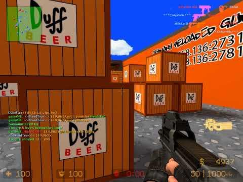 Counter strike source (Gun game)