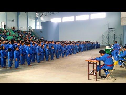 Vovinam Quận 8 - Kỳ thi thăng cấp Khóa 45 (25/9/2016)