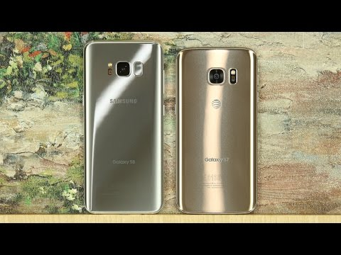 Samsung Galaxy S8 vs Samsung Galaxy S7 Full Comparison