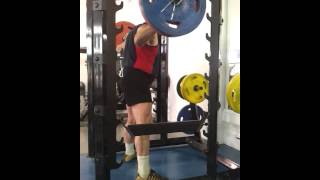 110 kg squat warm up 80 years old