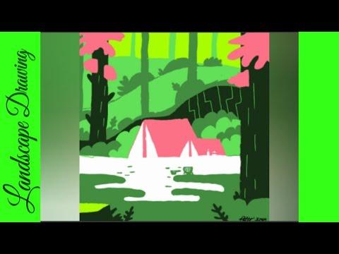 Digital Art Landscape ~allydoesart~