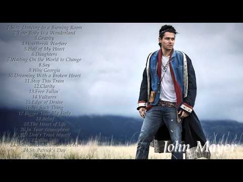 John Mayer Greatest Hits(HD/HQ)Best OfJohn Mayer 2016