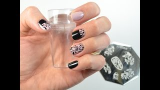 Born Pretty Clear Stamper Review/Fantastic Fall Flower Stamping Tutorial