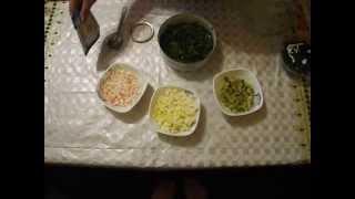 салат с киви и зеленым луком