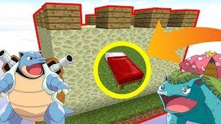 UNE BASE IMMENSE SÉCURISÉE PAR DES POKÉMON ! | Minecraft Bed Wars
