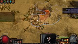 Path of Exile 3.0 BETA - 1h Glad Stunlock Build - Yep even bosses