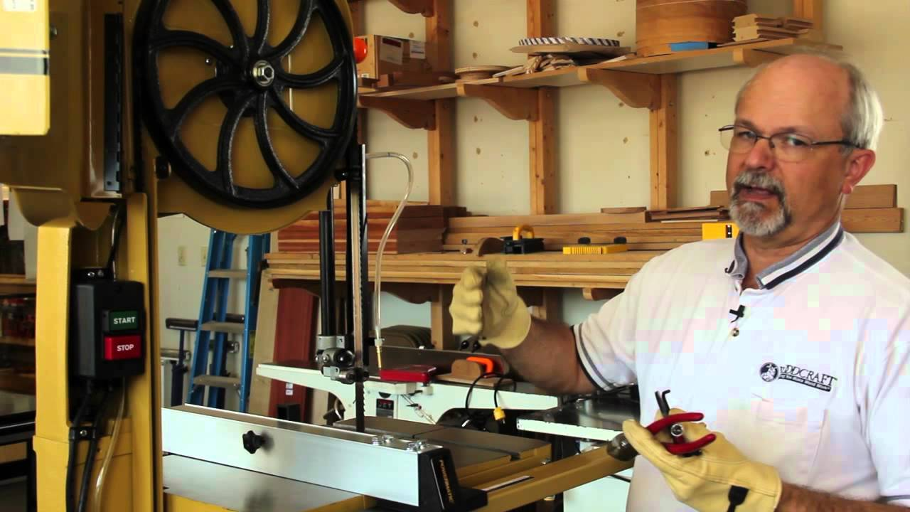 How To Tune A Bandsaw