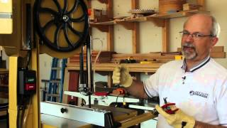 Woodcraft Demo Series - Band Saw Tuning And Resawing